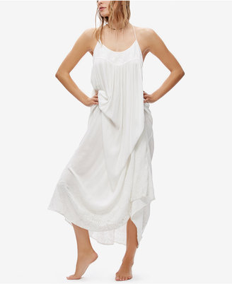 Free People Elaine Embroidered Maxi Dress $118 thestylecure.com