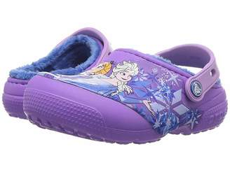 Crocs Fun Lab Lined Frozen Clog (Toddler/Little Kid)