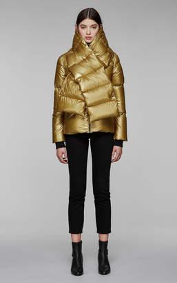 Mackage MIRRI-M lightweight down jacket with detachable scarf