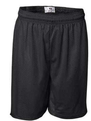 "Badger Sport 7"" Inseam Pro Mesh Game Shorts - 7207 - Black - XXXX-Large"