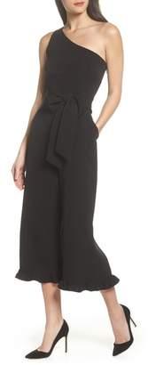 Sloane CLOVER AND One-Shoulder Jumpsuit