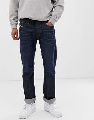 Diesel Larkee 0806W straight fit jeans in dark wash