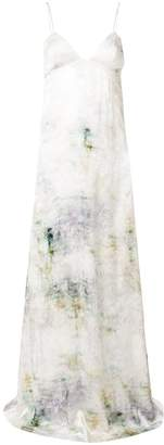 Salvatore Ferragamo printed maxi dress