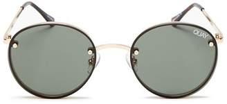 Quay Women's X ELLE FERGUSON Farrah Round Sunglasses, 48mm