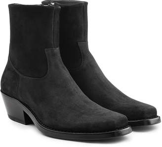 Calvin Klein Western Tod Suede Ankle Boots
