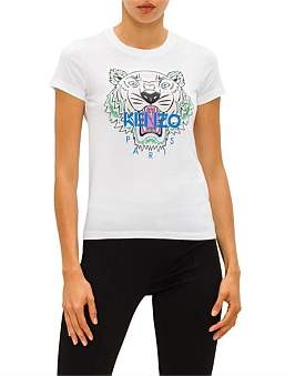Kenzo Classic Tiger Light Singkle Jersey - T Shirt