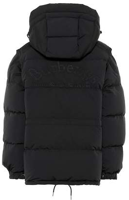 Burberry Convertible down jacket