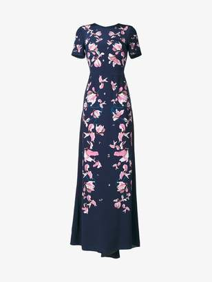 Erdem Kayo Lily floral print gown