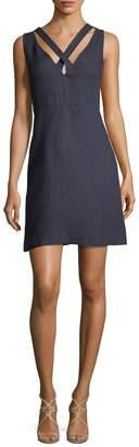 Valentino Women's Criss-Cross Cotton Dress