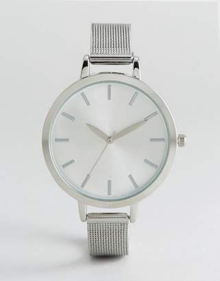 New Look Clean Mesh Strap Watch