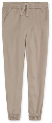 Izod EXCLUSIVE Boys Stretch Twill Jogger Pant-Reg and Husky 8-20