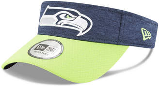 New Era Seattle Seahawks On Field Sideline Visor