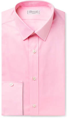 Charvet Pink Cotton Shirt