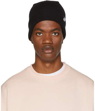 Norse Projects Black Merino Beanie