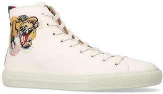 Gucci Major Tiger High-Top Sneakers