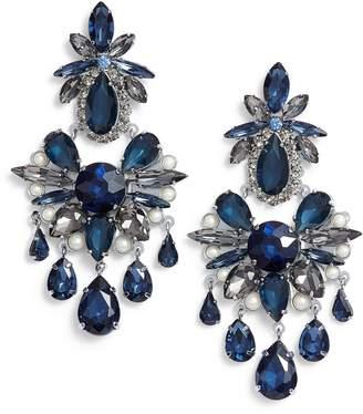 Kate Spade Crystal Chandelier Earrings