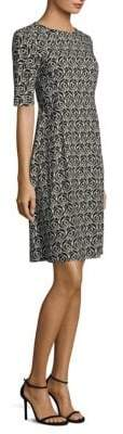 Max Mara Onirica Placed Print Dress