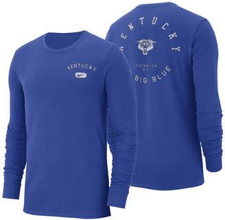 Nike Men's Kentucky Wildcats Retro Cotton Long Sleeve T-Shirt
