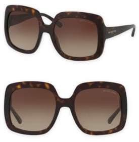 Michael Kors Harbor Mist 55MM Oversize Square Sunglasses