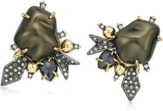Alexis Bittar Baroque Pearl Burst Clip-On Earrings