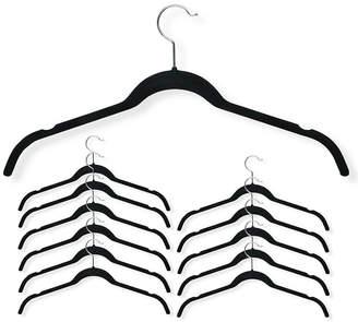 Honey-Can-Do 12-Pc. Velvet Touch Shirt Hangers