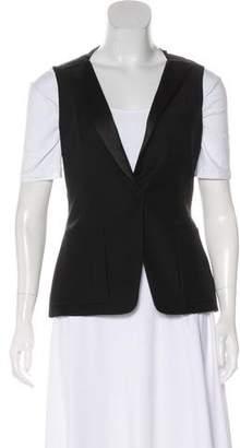 Nina Ricci Wool-Blend Tailored Vest