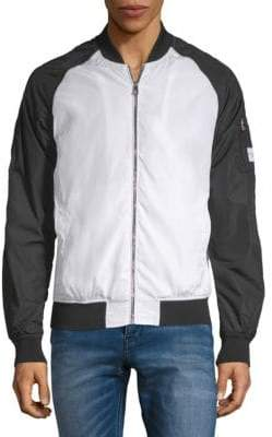 Calvin Klein Jeans Colorblock Bomber Jacket