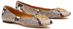 Tory Burch Chelsea Embossed Ballet Flats