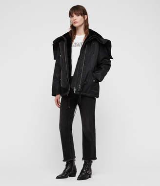 AllSaints Lexi Puffer Coat