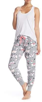 Couture PJ Llama Plush Pajama Pants