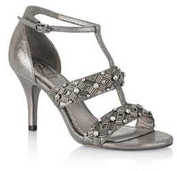 Adrianna Papell Amabel Beaded Sandals
