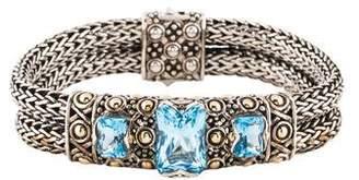 John Hardy Topaz Link Bracelet