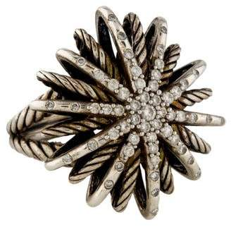David Yurman Diamond Starburst Ring