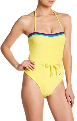 Juicy Couture French Terry One-Piece Swimsuit