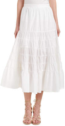 Maje Julyne Maxi Skirt