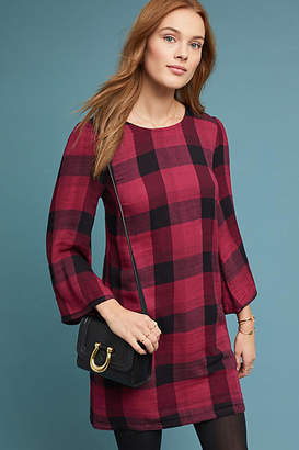 Cloth & Stone Plaid Tunic Dress