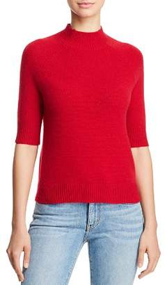 Aqua Mock-Neck Cashmere Sweater - 100% Exclusive