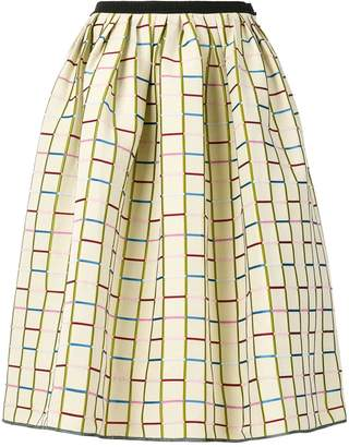 Antonio Marras patterned full midi skirt