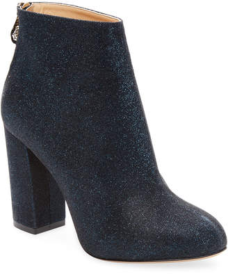 Charlotte Olympia Alba 100 Glittered Bootie