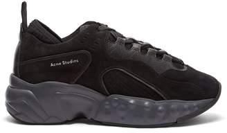 Acne Studios Rockaway suede leather trainers