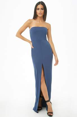 cfd7d7b59c Forever 21 Textured Tube Maxi Dress