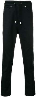 Diesel Black Gold drawstring regular trousers