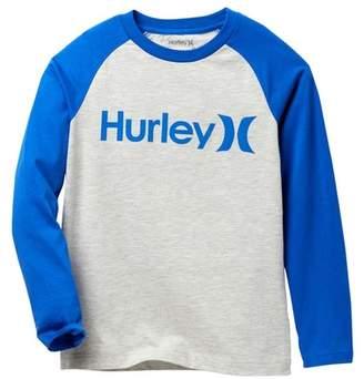 Hurley Raglan One & Only Long Sleeve Tee (Big Boys)
