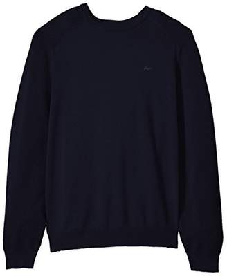 Lacoste Men's Long Sleeve Casual Elegance Premium Crew Sweater
