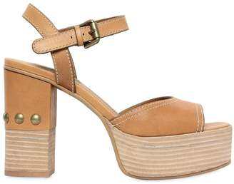 See by Chloe 105mm Leather Sandals W/ Studs