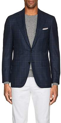 Canali Men's Plaid Wool Two-Button Sportcoat