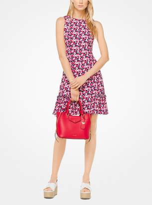 MICHAEL Michael Kors Carnation Ruffled Dress