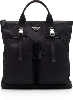 05e72dbcb54a Prada Convertible Nylon Tote Bag