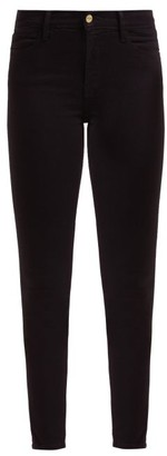 Frame Le High Skinny Jeans - Womens - Black