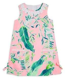 Lilly Pulitzer Little Girl's& Girl's Lilly Shift Dress
